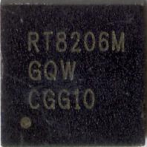 Richtek RT8206MGQW RT8206M  QFN IC Chip