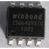Winbond W25Q64BVSIG SPI Serial Flash