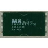 29LV008CBTC-70G MX29LV008CBTC CMOS FLASH MEMORY