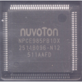 NUVOTON NPCE985PB1DX 128pin IC