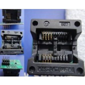 Programmer Adapter SOP8 DIP8 Socket (200mil) for TL866CS EZP2010
