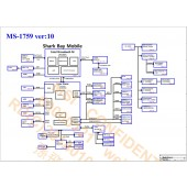 MSI MS-17591 MS-1759 MS01757 SCHEMATIC