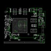 MSI AMD MS-V164 RH M92 M96 M MXM3.0 BOARDVIEW
