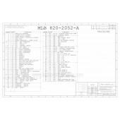 APPLE 820-2052-A SCHEMATIC