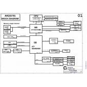 BenQ Joybook A52E schematic – AK2(U10)