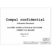 COMPAL LS-3338P nVIDIA G71GLM & G92 512MB SCHEMATIC