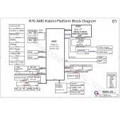 HP PAVILION15 QUANTA R76 DA0R76MB6C0 AMD Kabini REV1.A SCHEMATIC