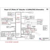 HP PROBOOK 430 G3 QUANTA X61 DA0X61MB6G0 ROYAL13 RIATA14 REV1.A SCHEMATIC