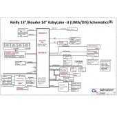 HP PROBOOK 440 G4 QUANTA X81 DA0X81MB6E0 SCHEMATIC