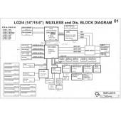 LG S425/S530 schematic –  LG2/4 (14″/15.6″) MUXLESS and Dis