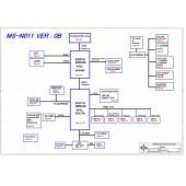 LG X110 MSI U100 MS-N011 MS-N0211 SCHEMATIC