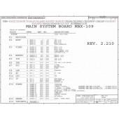 Sony Vaio VGN-S Series schematic – Sony MBX-109 schematic