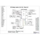ACER TRAVELMATE P2510 PEGATRON AQ5EB REV1.0 SCHEMATIC