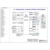 "ACER TRAVELMATE X349 PEGATRON 14"" CASSIOPEIA  X3 REV1.0 SCHEMATIC"