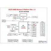 GATEWAY NE71B PEGATRON EG70  REV2.1 SCHEMATIC