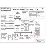 NEC VK19EA, VK18E QUANTA RR3 REVES1 SCHEMATIC