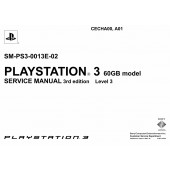 SONY PLAYSTATION3 60GB SM-PS3-0013E-02 SERVICE MANUAL