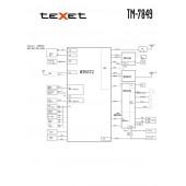 TEXET TM-7849 SCHEMATIC