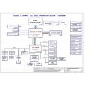 Toshiba Satellite M50 (HAZ00 & HTW01) schematic - LA-2861