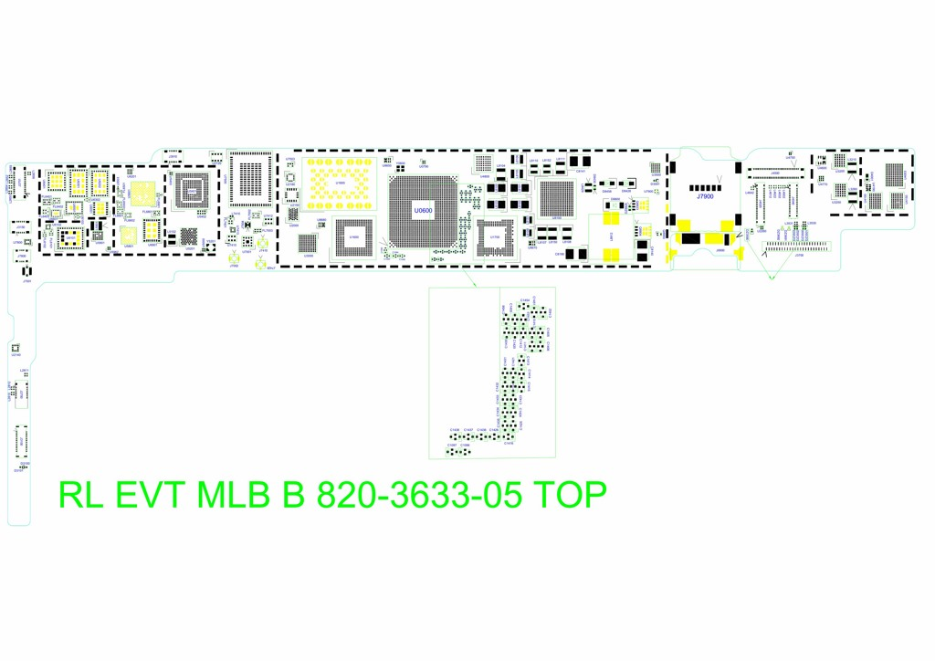 APPLE IPAD AIR 2 RL EVT MLB B 820-3633-05 SCHEMATIC for 6,63 $Laptopserviz Laptopserviz