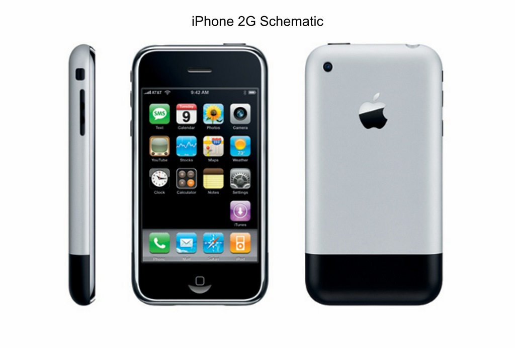 APPLE IPHONE 2G SCHEMATIC - 820-2021 for 6,63 $